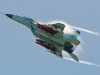 MiG-35 '10 Blue' makes a demo flight with Kh-38 and Kh-59 ASMs