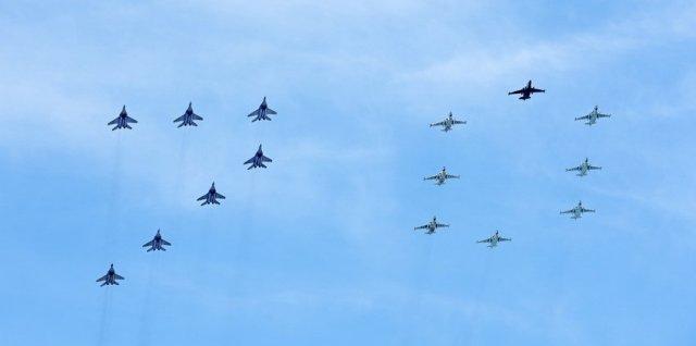 MiG-29 & Su-25