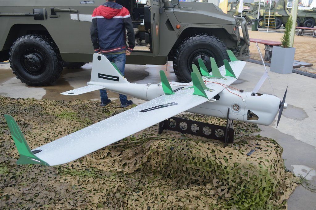 The SIGINT version of the Orlan-10 UAV