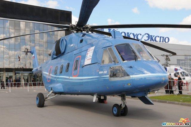 Mil Mi-38 second prototype